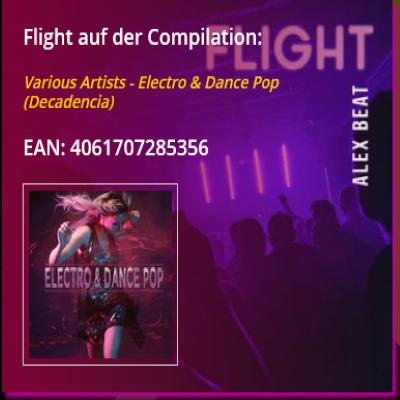 Flight von Alex Beat ist auf der Compilation Electro & Dance Pop in 2020 erschienen