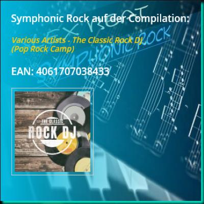 Symphonic Rock von Alex Beat ist auf der Compilation The Classic Rock DJ in 2018 erschienen